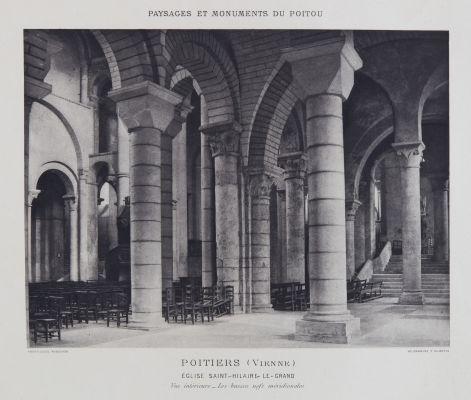 Église Saint-Hilaire-Le-Grand (vue intérieure)