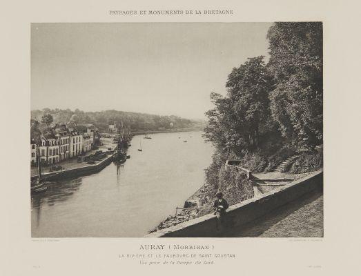 Pl. 5 La Rivière et Le Faubourg de Saint Goustan