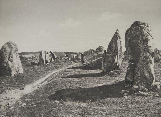 Carnac (Morbihan) alignements mégalithiques de Kermario