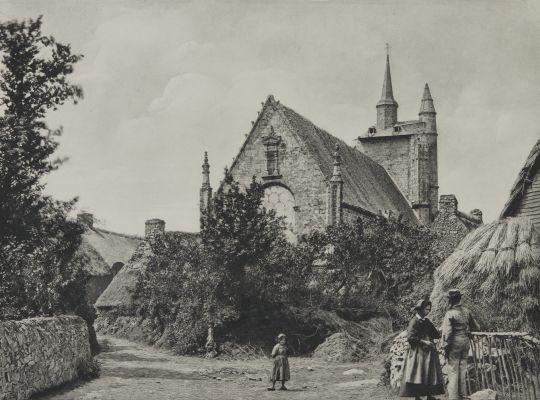 Pluneret (Morbihan) Chapelle Saint-Avoye