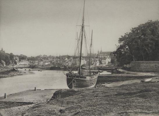 Auray (Morbihan) Le Port et le Faubourg de Saint Goustan