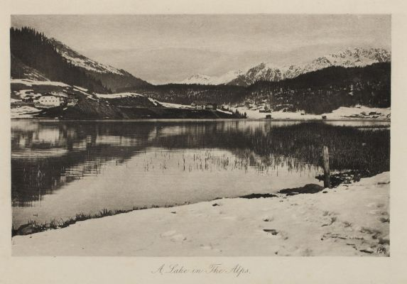 A Lake in the Alps