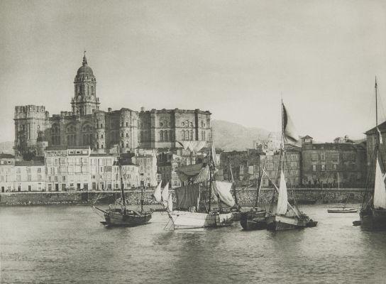 Hafen von Malaga.