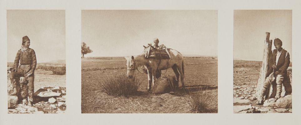 Albanesische Bauern.