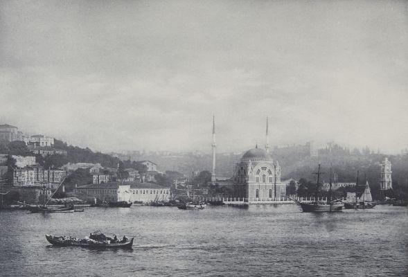 Moschee Yeni Valideh in Constantinopel.