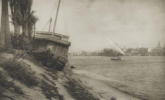 Am Nil Bei Cairo.