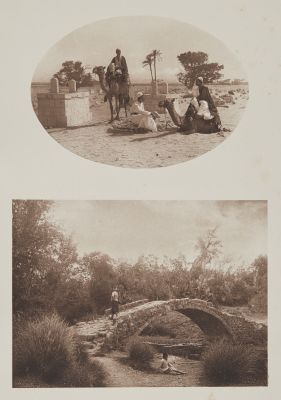 Arabischer Friedhof Bei Den Pyramiden von Gizeh /  Gegend Bei Mamariza (Kleinasien).