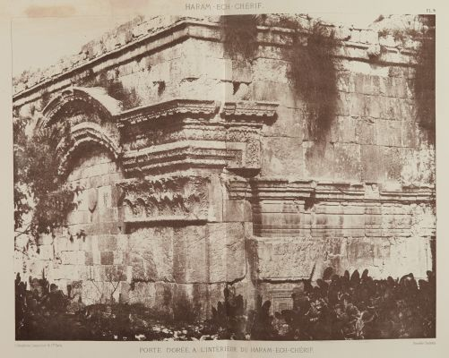 Porte Doree, A L'Interieur du Haram-Ech-Cherif
