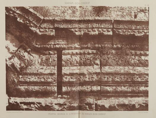Porte Doree a L'interieur du Haram -Ech-Cherif