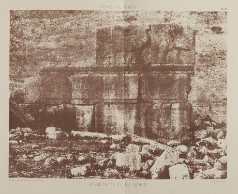 Angle Nord-Est du Temple