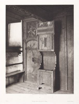 Erste Abtheilung: Malerische Innenraume no. 4