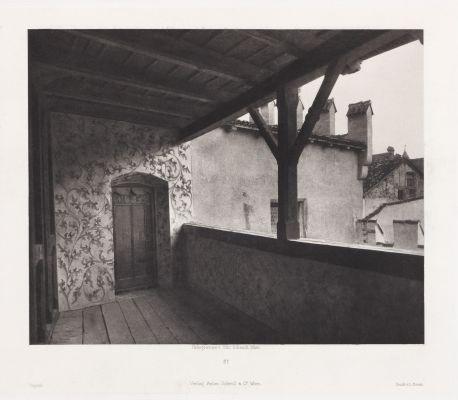 Erste Abtheilung: Malerische Innenraume no. 21