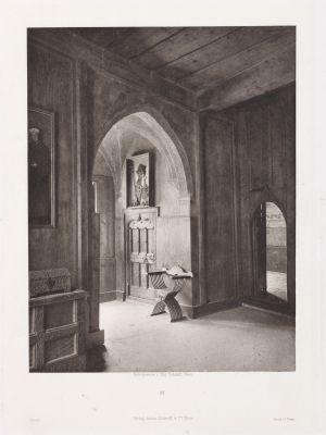 Erste Abtheilung: Malerische Innenraume no. 26