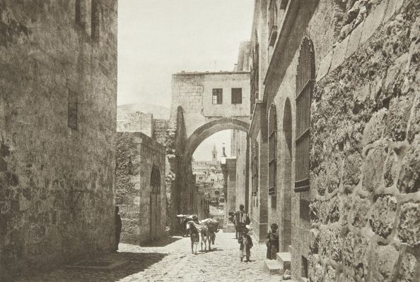The Ecce Homo Arch in the Via Dolorosa