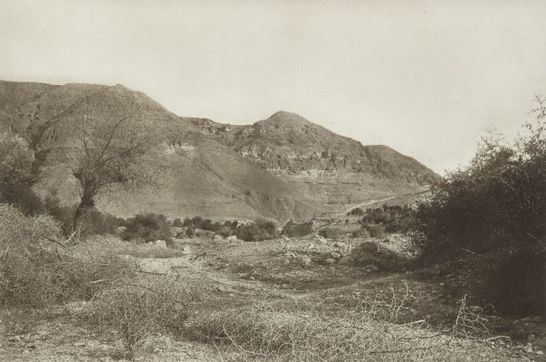 The Mount of Temptation near Jericho