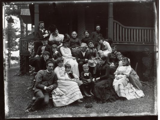 Stieglitz Family at Oaklawn, Lake George