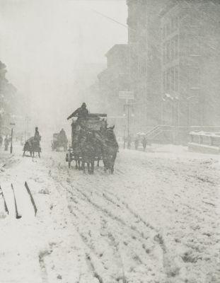 Winter on Fifth Avenue
