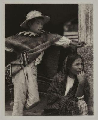 Woman and Boy – Tenacingo