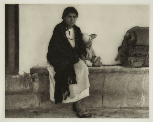 Woman and Baby – Hidalgo