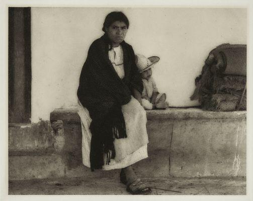 Woman and Baby – Hidalgo