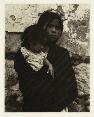Girl and Child – Toluca