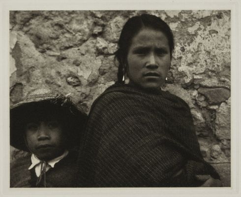 Young Woman and Boy – Toluca