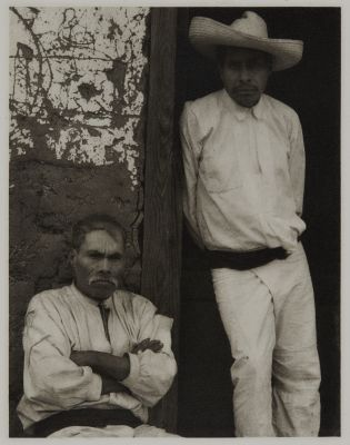 Portrait of Two Men, Mexico