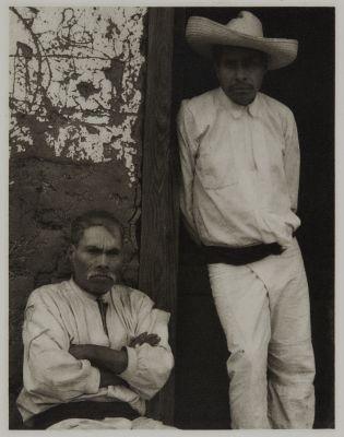 Portrait of Two Men, Mexico