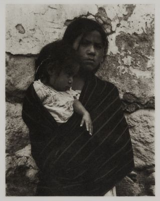 Girl and Child – Toluca
