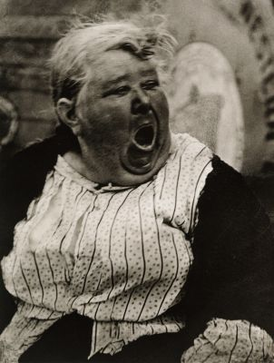 Yawning Woman