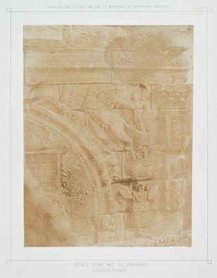 Pl. 58 Détail d'un Arc de Triomphe