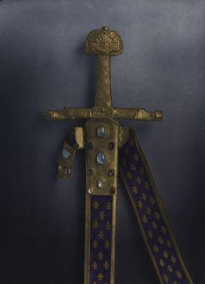 Épée dite de Charlemagne, Musée du Louvre