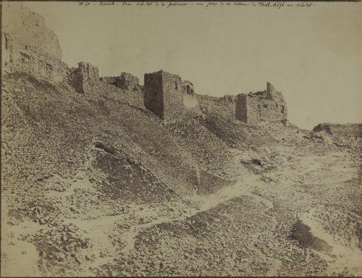 Karak. Face Sud est de la Forteressa