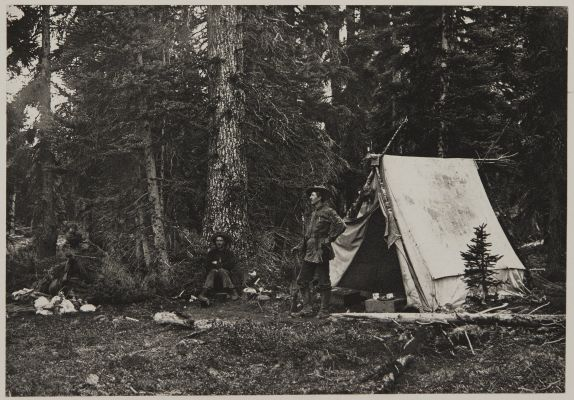Camp at Little Fork Pass