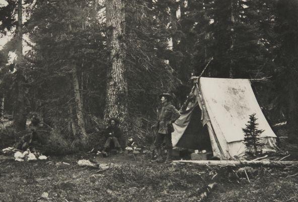 Camp at Little Fork Pass