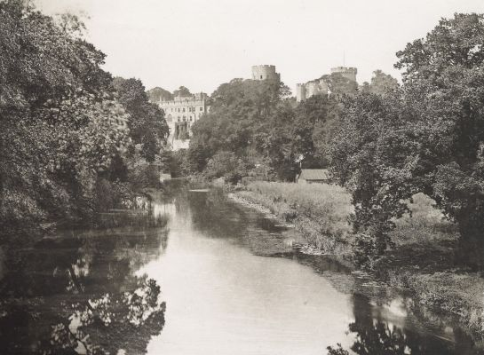 Warwick Castle From the Brook