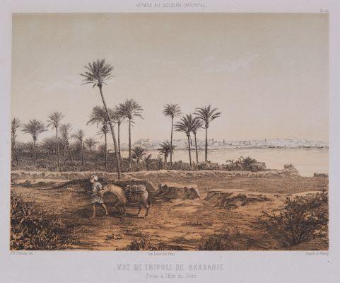 Vue de Tripoli de Barbarie