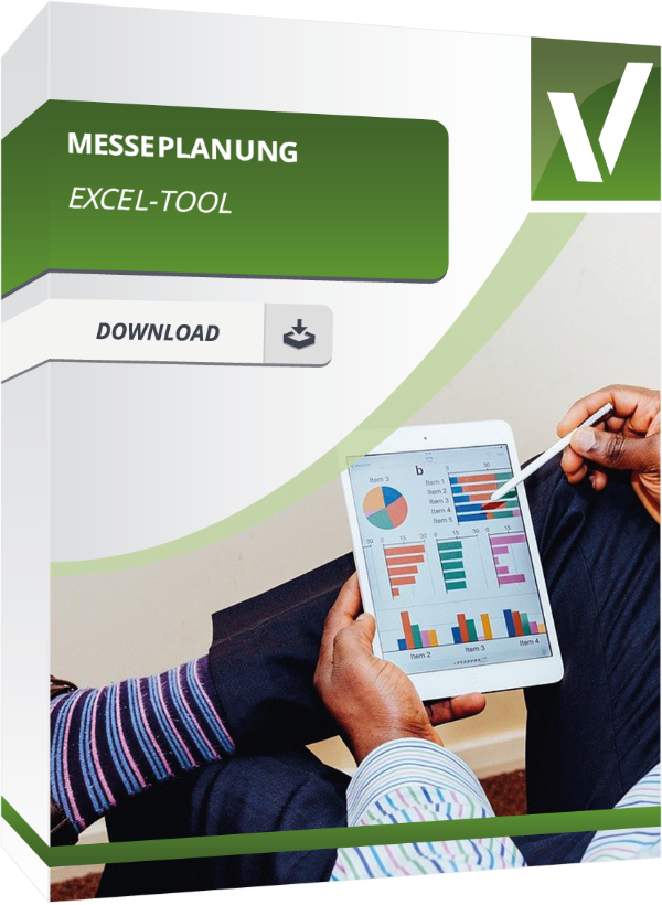 Produktbox für das Excel Tool Messeplanung