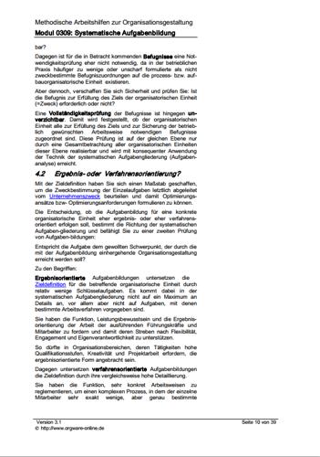 Seite 10 des Ratgebers zur systematischen Aufgabenbildung und Aufgabenanalyse.
