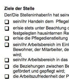 Diese Stellenbeschreibung für eine/n Bereichsleitung /  Stellv. Pflegedienstleitung ist ein Beispiel dafür, wie eine typische Interessenlage zwischen teilnehmenden Parteien umgesetzt werden kann.