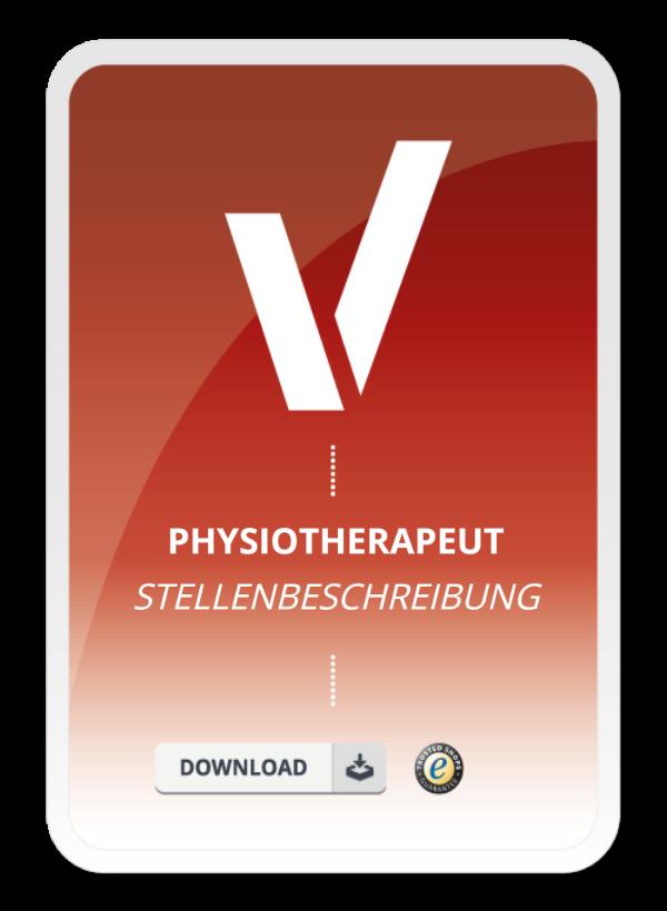 Physiotherapeut Stellenbeschreibung