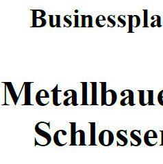 Mit dieser Vorlage können Sie einen Businessplan für Metallbauer erstellen.