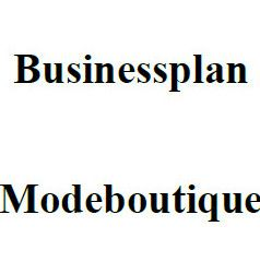 Mit dieser Vorlage können Sie einen Businessplan für eine Modeboutique erstellen.