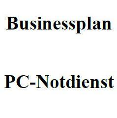 Mit dieser Vorlage können Sie einen Businessplan für einen PC-Notdienst erstellen.
