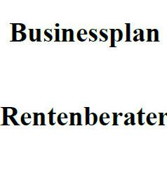 Mit dieser Vorlage können Sie einen Businessplan für Rentenberater erstellen.