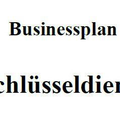 Mit dieser Vorlage können Sie einen Businessplan für einen Schlüsseldienst erstellen.