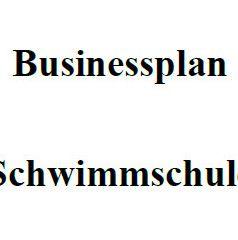 Mit dieser Vorlage können Sie einen Businessplan für eine Schwimmschule erstellen.