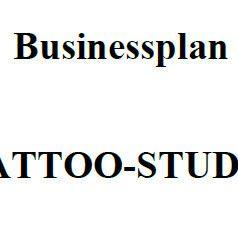 Mit dieser Vorlage können Sie einen Businessplan für ein Tattoostudio erstellen.