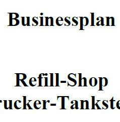 Mit dieser Vorlage können Sie einen Businessplan für einen Tinten-Refill-Shop erstellen.