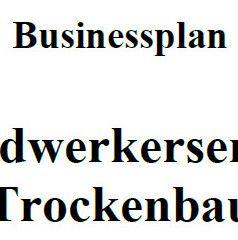 Mit dieser Vorlage können Sie einen Businessplan für Trockenbau erstellen.